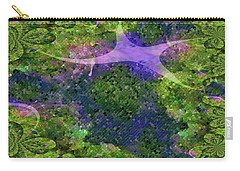 Carry-all Pouch featuring the digital art Make A Wish by Claire Bull