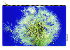Carry-all Pouch featuring the digital art Make A Wish by Rodney Campbell