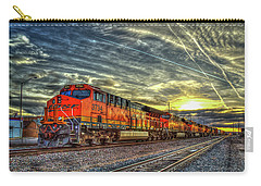 Make Way Resting B N S F Train Gallup New Mexico Art Carry-all Pouch