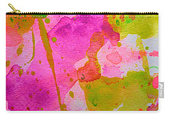 Carry-all Pouch featuring the painting Make Your Own Ending by Tracy Bonin