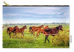 Carry-all Pouch featuring the photograph Making A Diner Run by Melinda Ledsome