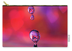 Carry-all Pouch featuring the photograph Making A Splash by Darren Fisher