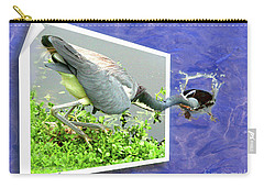 Making A Splash Carry-all Pouch by Mariarosa Rockefeller