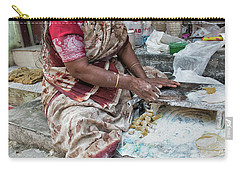 Making Chapatti Carry-all Pouch by Marion Galt