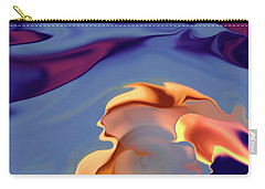 Making Love In Blue Velvet Carry-all Pouch