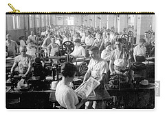 Making Money At The Bureau Of Printing And Engraving - Washington Dc - C 1916 Carry-all Pouch