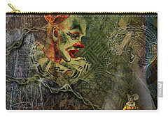 Making Of A Clown Carry-all Pouch