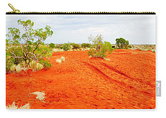 Making Tracks In The Dunes - Red Centre Australia Carry-all Pouch