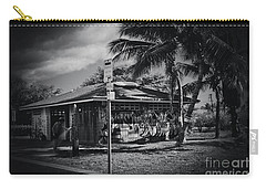 Carry-all Pouch featuring the photograph Mala Wharf Showers Lahaina Maui Hawaii by Sharon Mau