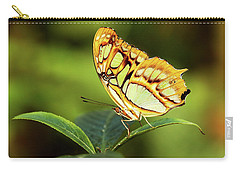 Carry-all Pouch featuring the photograph Malachite by Grant Glendinning