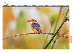 Malachite Kingfisher Hunting Carry-all Pouch