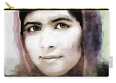 Malala Yousaf Zai 10 Carry-all Pouch by Gull G