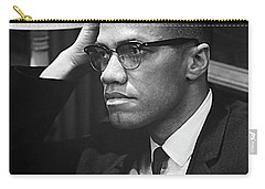 Malcolm X On Criticism Carry-all Pouch