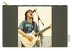 Malcolm Young Of Ac Dc At Day On The Green - July 1979 Carry-all Pouch