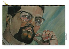 Malcom X Carry-all Pouch by Ray Agius