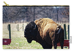 Male Bison Carry-all Pouch