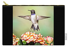 Male Black-chinned Hummingbird Carry-all Pouch