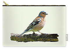 Male Chaffinch, Cream Background Carry-all Pouch