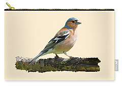 Male Chaffinch, Transparent Background Carry-all Pouch