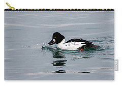 Male Common Goldeneye Carry-all Pouch