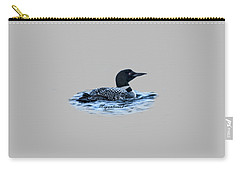Male Mating Common Loon Carry-all Pouch