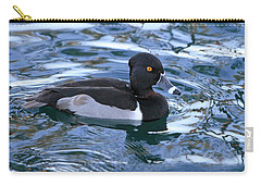 Male Ring-necked Duck  Carry-all Pouch by Shoal Hollingsworth