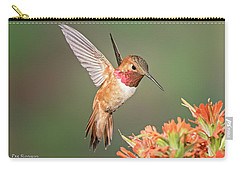 Male Rufus Hummingbird Carry-all Pouch