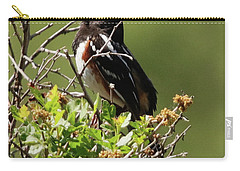 Male Spotted Towhee Carry-all Pouch