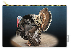 Male Turkey Strutting Carry-all Pouch