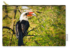 Male Von Der Decken's Hornbill Carry-all Pouch by Adam Romanowicz