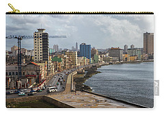 Malecon In Havana Carry-all Pouch