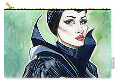Maleficent Carry-all Pouch by Jimmy Adams