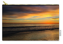 Malibu Beach Sunset Carry-all Pouch