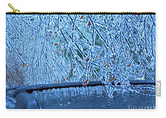 Malibu Icicles Carry-all Pouch