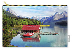 Maligne Lake Boathouse Carry-all Pouch