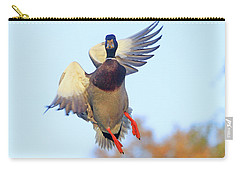 Mallard In Flight 2 Carry-all Pouch