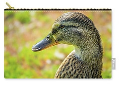 Mallard Portrait - Female Carry-all Pouch