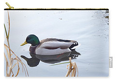 Mallard Reflected Carry-all Pouch by Margaret Brooks