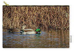 Mallards At The Marsh Carry-all Pouch