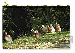 Mallards Walk Carry-all Pouch