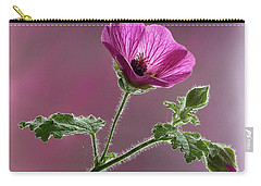 Mallow Flower 3 Carry-all Pouch