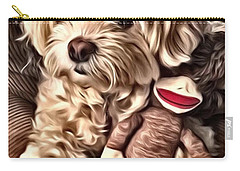 Maltipoo Love Carry-all Pouch