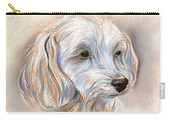 Maltipoo Portrait 2 Carry-all Pouch