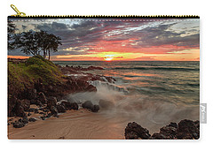Maluaka Beach Sunset Carry-all Pouch