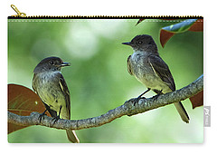 Mama And Papa Kingbird Carry-all Pouch