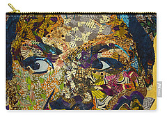 Carry-all Pouch featuring the tapestry - textile Mama's Watching by Apanaki Temitayo M