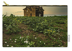 Carry-all Pouch featuring the photograph Mammatus And Flowers  by Aaron J Groen