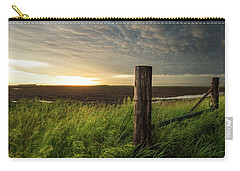 Carry-all Pouch featuring the photograph Mammatus Sunset by Aaron J Groen