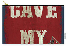 Man Cave Rules Carry-all Pouch