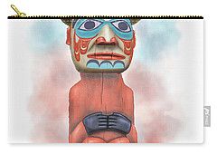 Man From Bear Clan Carry-all Pouch